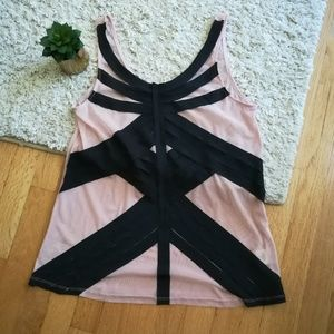 Pink and Black Silence + Noise Tank